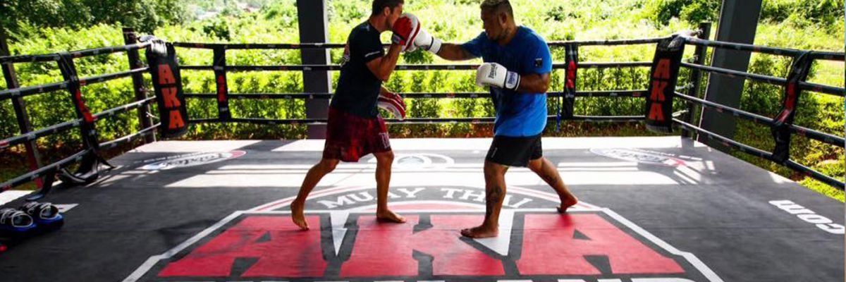 Mark Hunt MuayThai Holiday at AKA Thailand