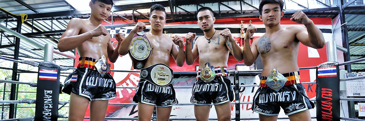 Muay thai boxing in Thailand Gym Bangarang