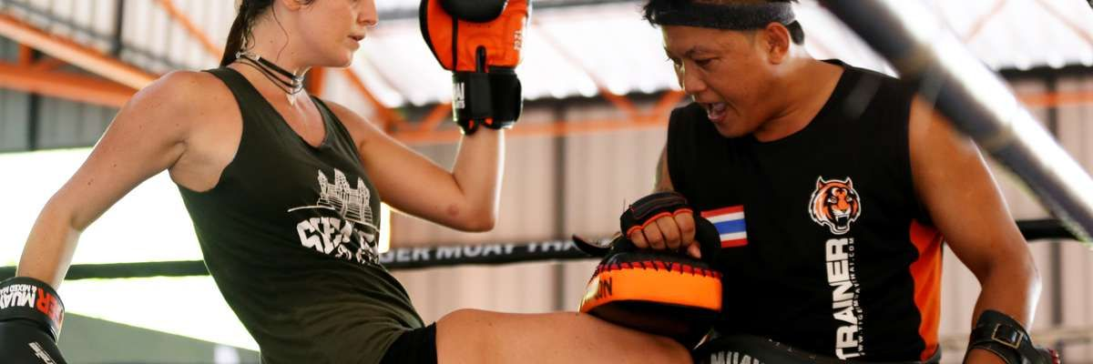 Tiger Muay Thai Boxing classes in Chiang Mai