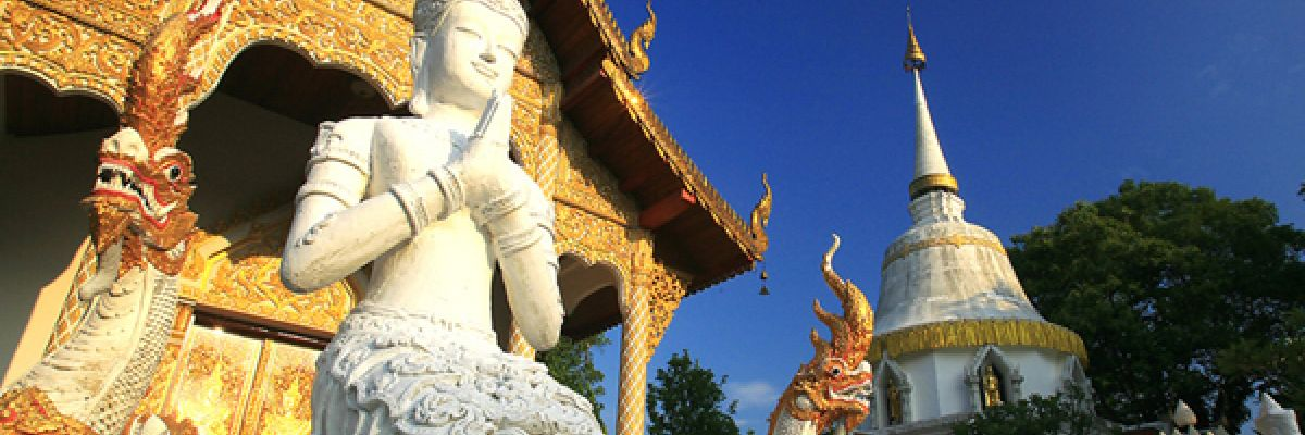 Chiang Mai Temples in Thailand