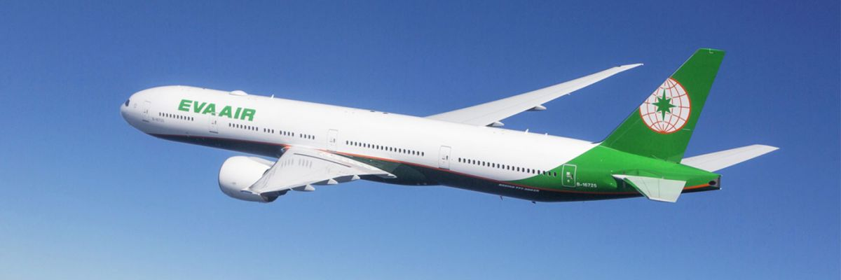 New Aircraft with EVA Air to Bangkok