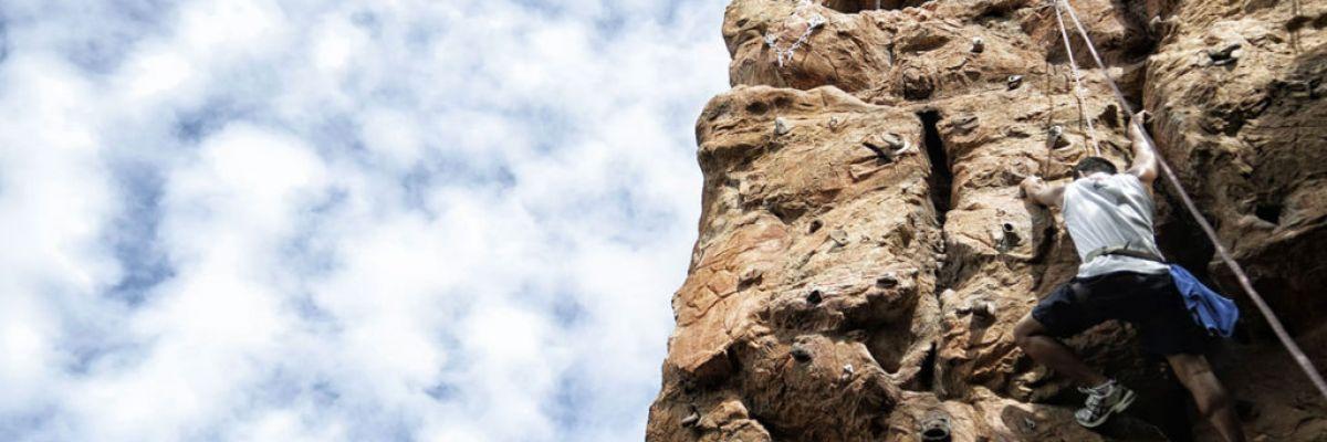 Fairtex Sports Club rock climbing
