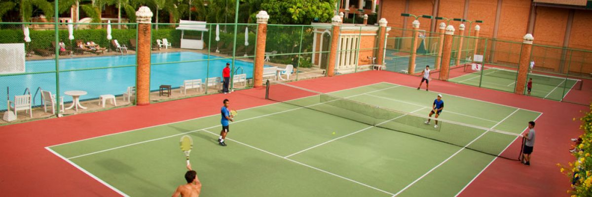 Tennis and sport activities in Pattaya Thailand
