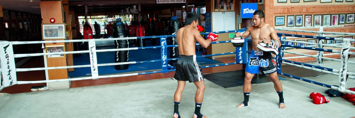 Training MuayThai at Fairtex Holidays