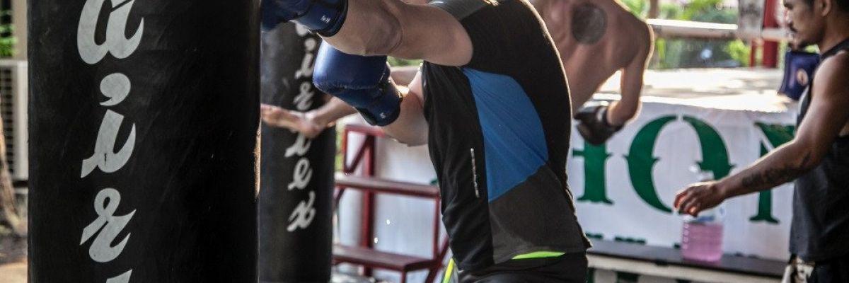 Khongsittha Muay Thai training thai boxing in Bangkok