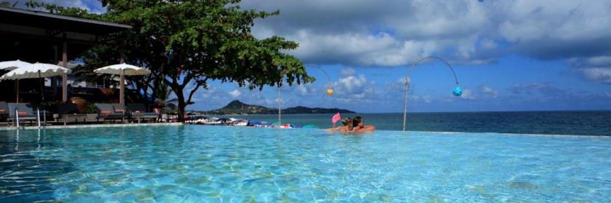 Swimming pool at Lamai Wanta Resort