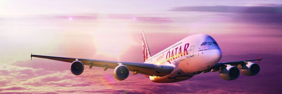Fly with Qatar Airways from London Heathrow, Manchester, Scotland to Thailand and Singapore
