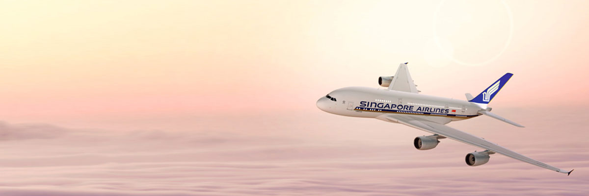 Singapore Airlines Flights to Singapore and Thailand