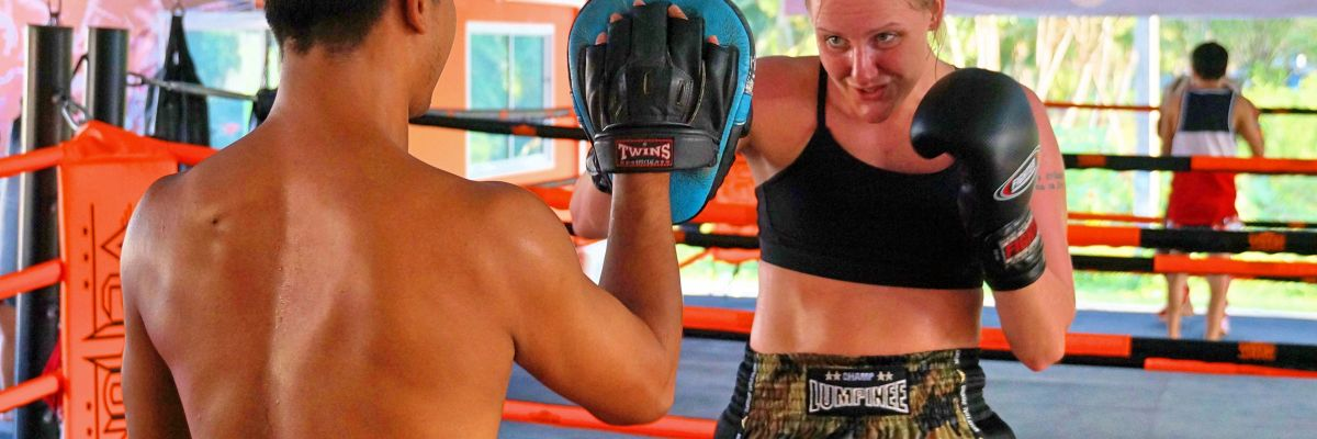 Revolution MuayThai Camp  Phuket MuayThai boxing training packages including flights and training