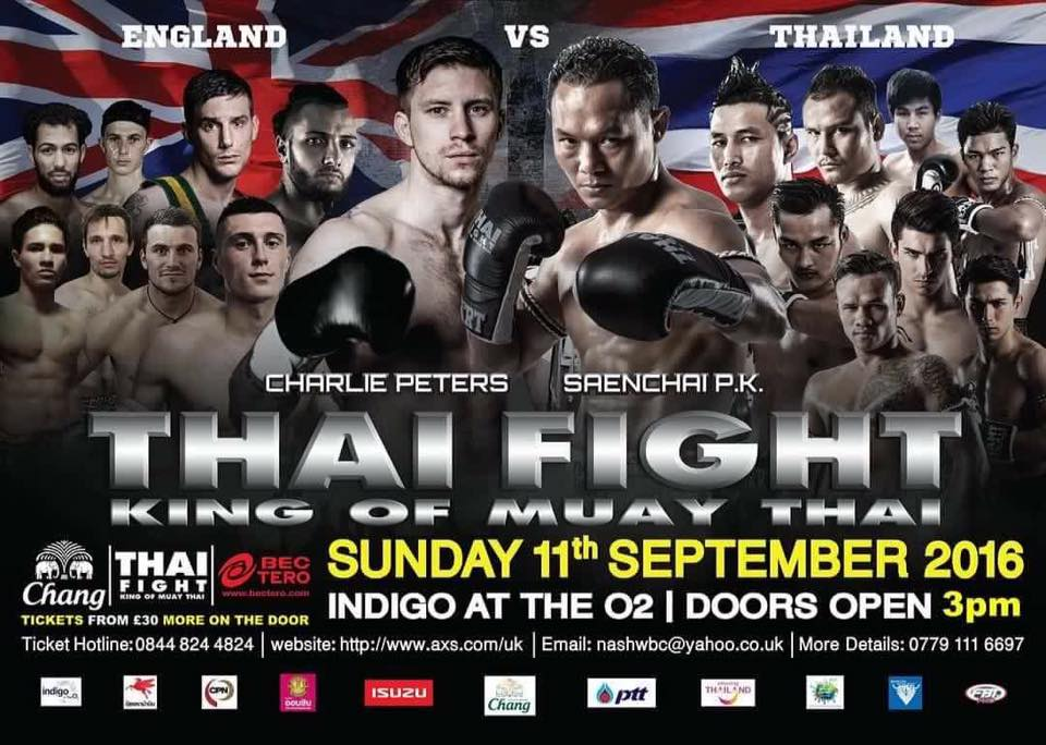 Thai Fight Uk london September 2016