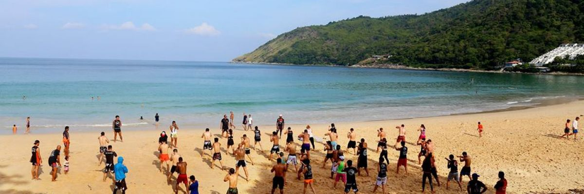 Beach training in Phuket is one of the main highlights of Thailand
